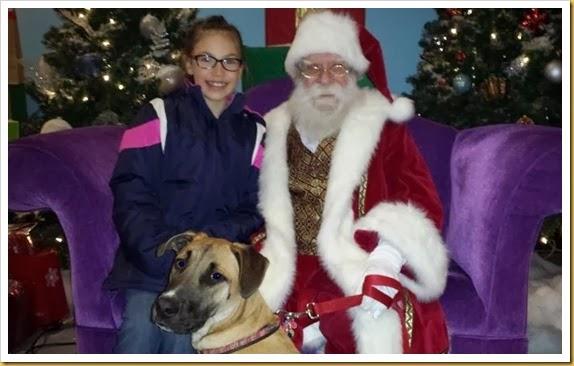 santa with dog 4