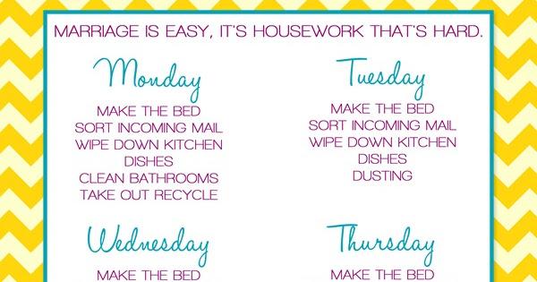 blissful 55  chore chart printables
