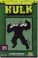 P00021 - Coleccionable Hulk #21 (de 50)