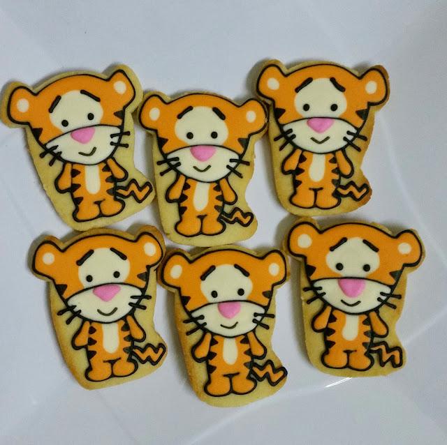 tigger cookies