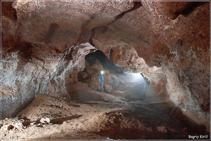 Район ТР. Пещера Оптимистическая