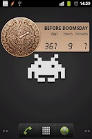 Screenshot of Mayan Doomsday Widget