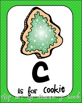 C is for Cookie Pic