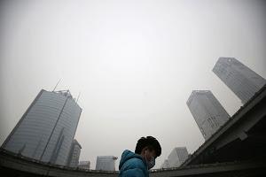 世卫组织警告北京空气污染威胁健康