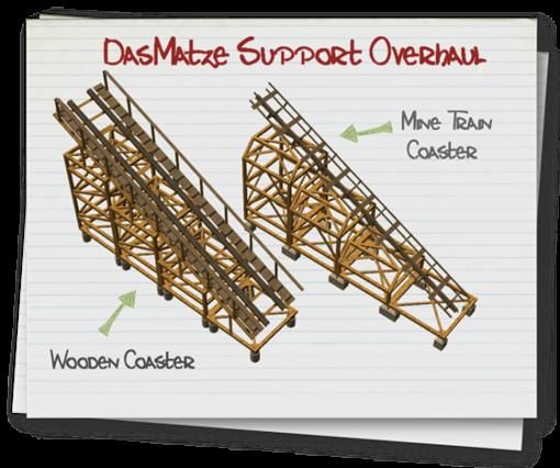 Support Overhaul (DasMatze) lassoares-rct3