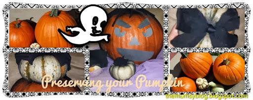 how to preserve your halloween pumpkin