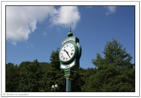 Betws-y-Coed Station Clock
