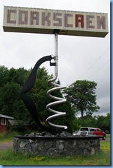 2777 Wisconsin US-2 East Hurley - World's Largest Corkscrew