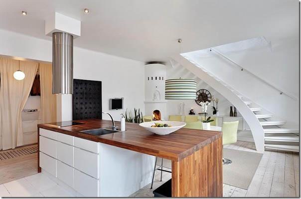 Casa svedese su due piani case e interni for Moderni disegni di case a due piani
