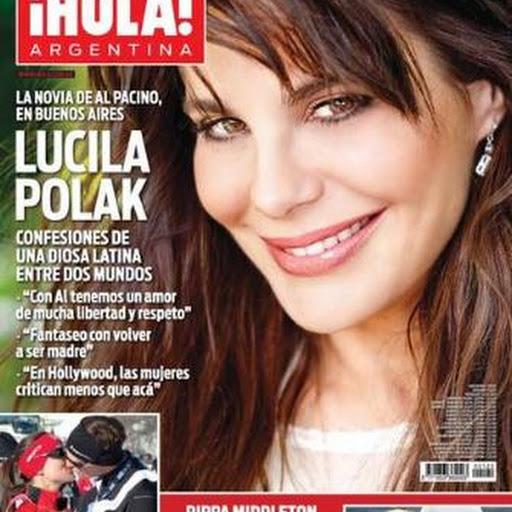 Lucila polak en revista hola argentina el for Revistas de chismes del espectaculo