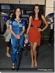 Paddock Girls Commercialbank Grand Prix of Qatar  08 April  2012 Losail Circuit  Qatar (12)