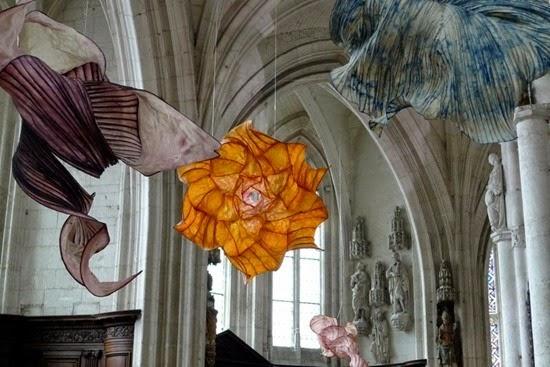 Esculturas papel Peter Gentenaar 08
