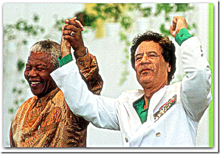 Mandela and Gaddafi 1997