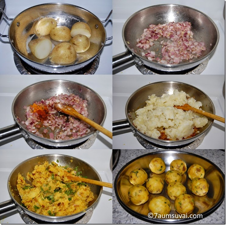 Potato masala process