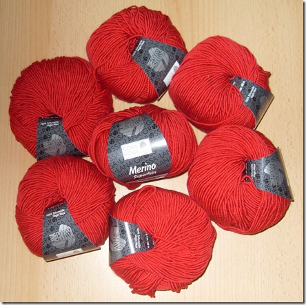 2013_02 Lana Grossa Merino superfein in rot (2)