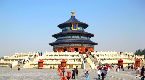 hall of prayer for good harvest @temple of heaven