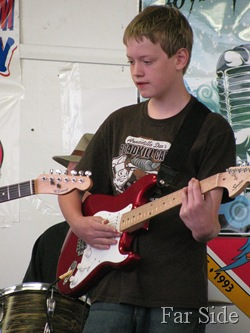 Noah Playing Guitar