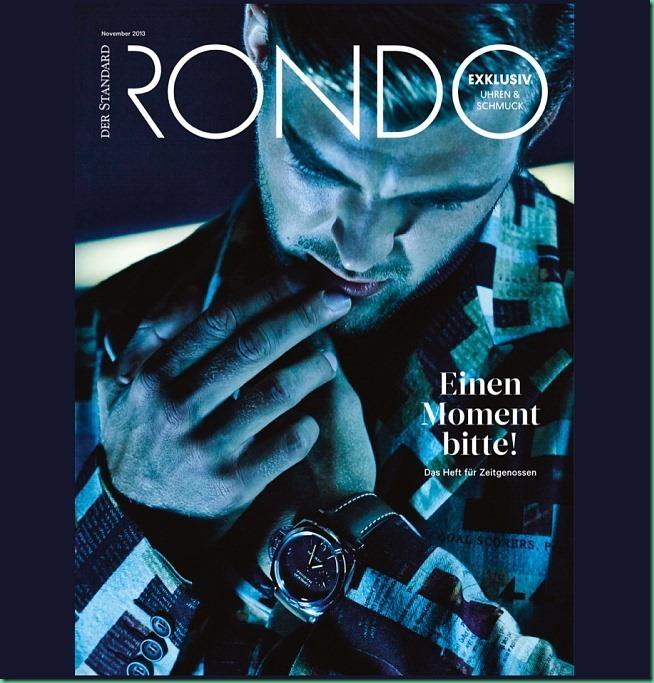 pPatrick Kafka on the cover of Rondo Magazine