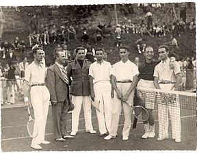 Finalisti del doppio, anno 1937.