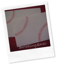 baseball envelopes