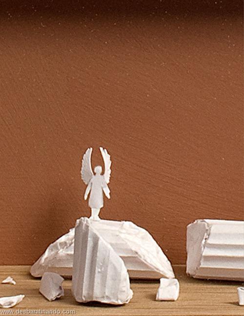 obras de arte em papel 3D origami Peter Callesen desbaratinando (12)