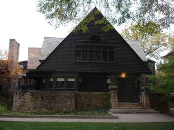 frank lloyd Home oak park illinois