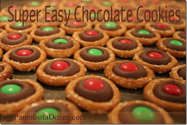 Super Easy Chocolate Cookies