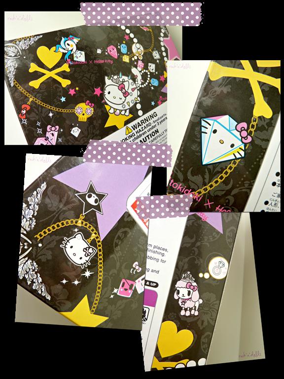 pullip tokidoki x hello kitty violetta caja detalles review