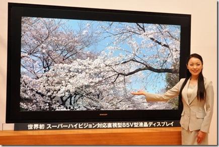 El primer televisor 8K, es inútil con el soporte actual!!