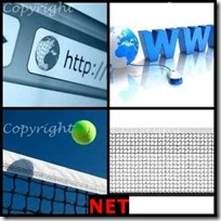 NET- 4 Pics 1 Word Answers 3 Letters
