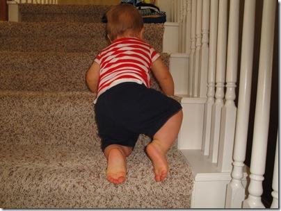 3.  Climbing stairs