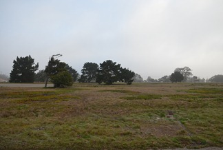 morning fog at Vandenberg MFC