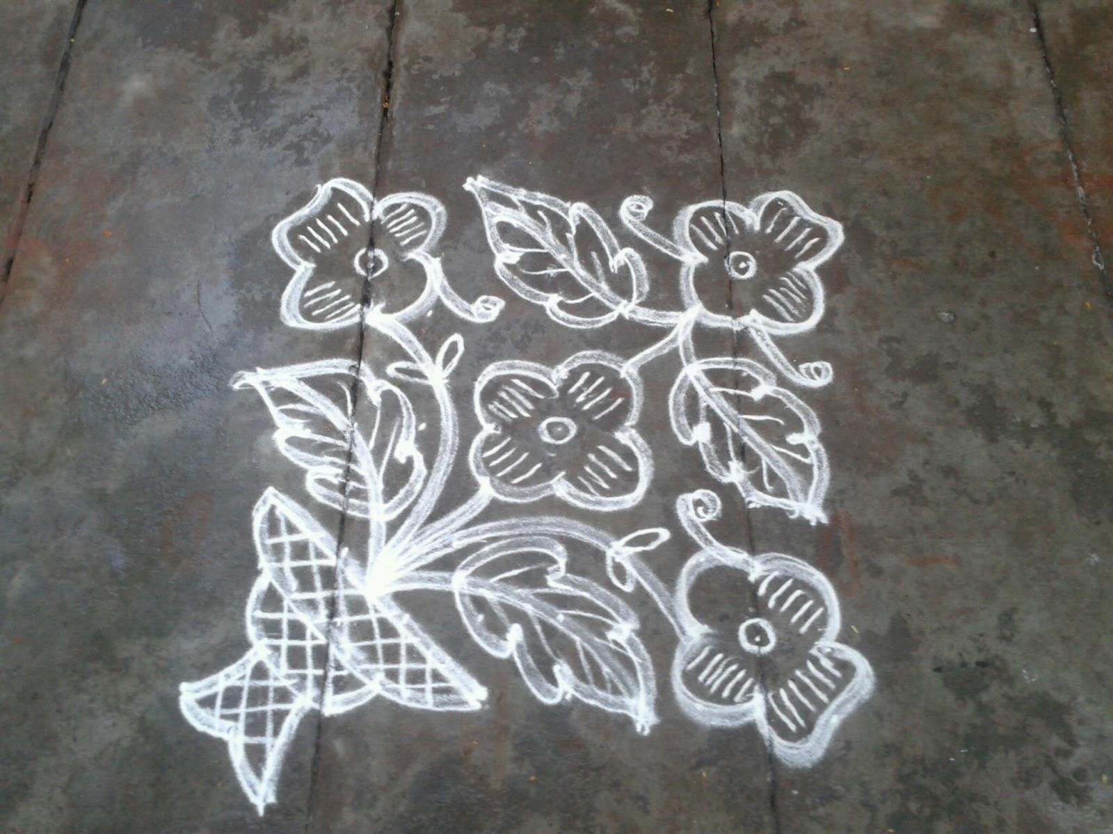flowers pulli kolangal