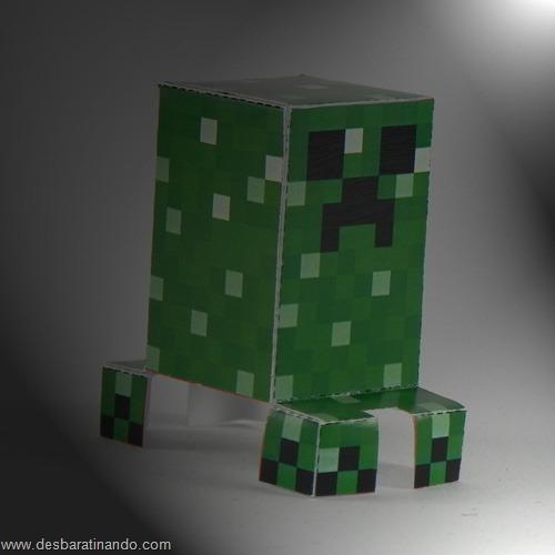 Paper Toys minecraft creeper