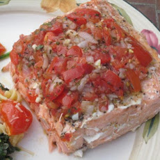Salmon Baked in Foil