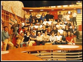 SIC 10 HORAS, 1999 com Júlia Pinheiro-Bastidores