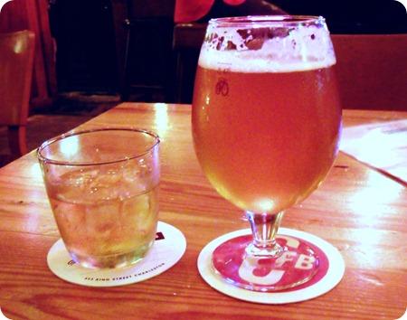 Bourbon 'n' beer
