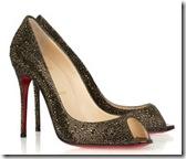 Louboutin Swarovski Crystal Shoe