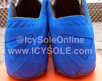 nike lebron 11 nsw sportswear ext blue suede 1 03 First Look // Nike Sportswear LeBron XI EXT Blue Suede