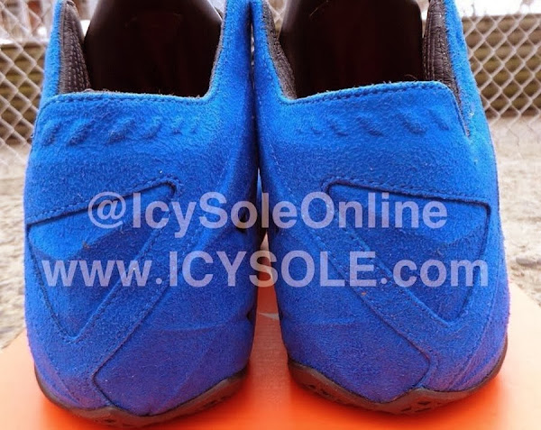 First Look  Nike Sportswear LeBron XI EXT 8220Blue Suede8221