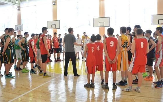 "Первый день турнира ""Весенний баскетбол. Авангард 2014"" (27 марта 2014г.)."