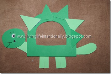 D is for Dinosaur Letter Craft for Preschoolers