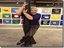 Ann dance pole