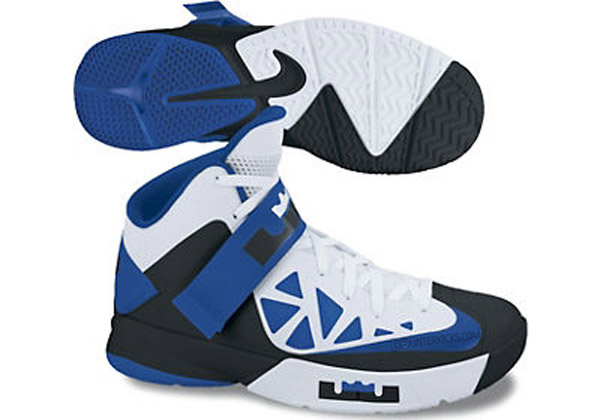 Nike Zoom Soldier 6 White  Black  Blue Available Online