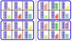 Image result for numicon teen numbers