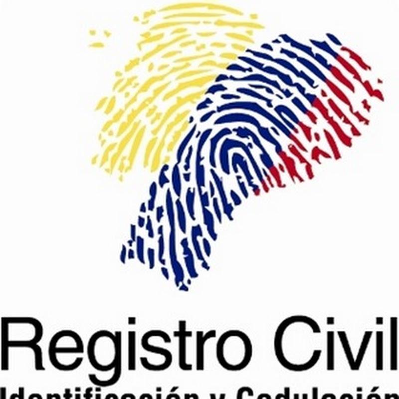 Día del Registro Civil en Ecuador