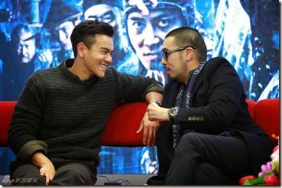 2014.11.18 Eddie Peng during Rise of the Legend - 彭于晏 黃飛鴻之英雄有夢 做客新浪 09