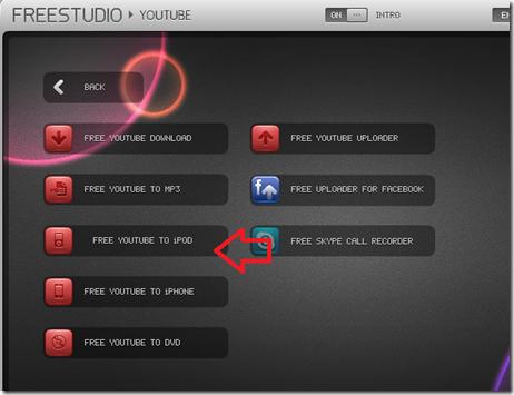 โปรแกรม ดาวน์โหลด youtube to  ipod