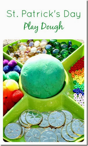 st. patrick's play dough
