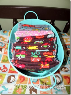 Cloth Diapering - Wipes Container
